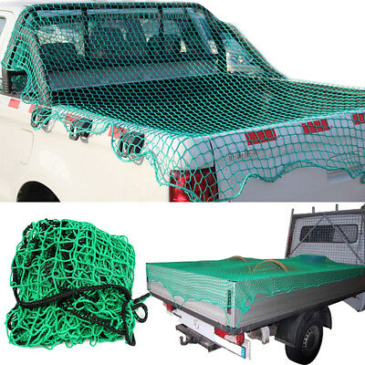 CARGO NET UTE TRAILER TRUCK HEAVY DUTY 4Mx2M NYLON 45MM MESH BUNGEE CORD SAFE