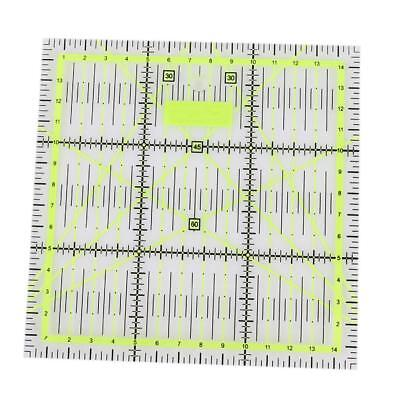 15 * 15cm Patchwork Ruler Ruler Seam Sewing Foot Multi-function DIY Hand Tool
