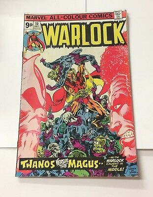 WARLOCK #10 December 1975 Bagged Marvel Comic