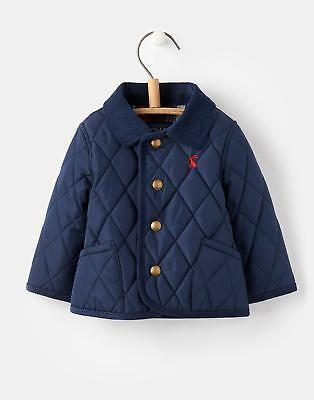 Joules 124719 Milford Baby Boys Jacket in Popper Front Fastening in French Navy