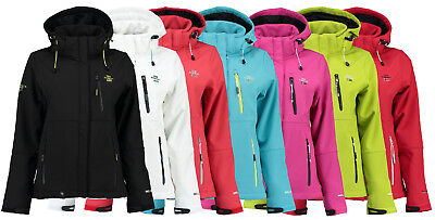 Geographical Norway Damen Softshell Jacke Regenjacke Outdoor neu