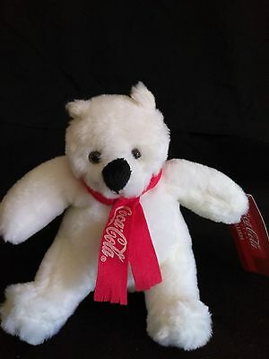 Vintage small plush Coca Cola Polar Bear NEW