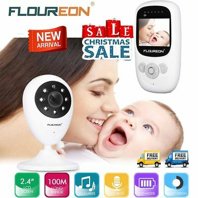 Wireless LCD Babyfone Babyphone Baby Monitor Babyviewer mit HD Nachtlicht Kamera