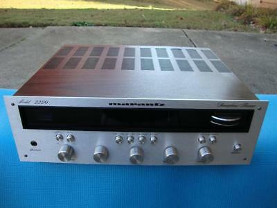 Nice Marantz 2220 Stereo Receiver w/ Phono Output for Turntable - Serviced !!