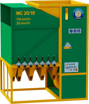 Grain cleaning equipment and seed cleaners