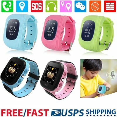 Q50 ANTI-LOST GPS Tracker kid SOS Call smartwatch Phone for android