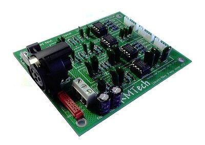 KMTech 24dB/Octave LR OPA2134 3-way active crossover filter with balanced input.