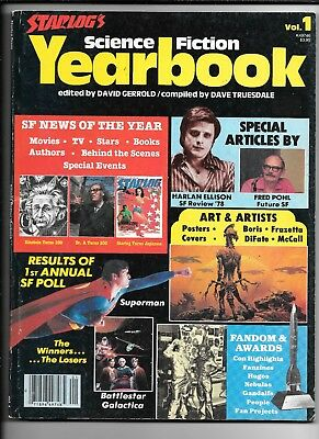 Starlog's Science Fiction Yearbook #1 1979 FN+ Vallejo Frazetta Famous Monsters