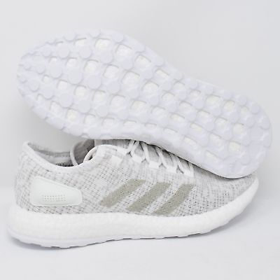 d37386b4aa6 ADIDAS ORIGINALS PUREBOOST Clima White Crystal Grey Mens Size ...