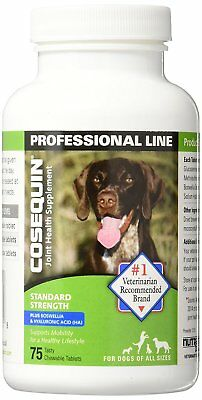 Cosequin Standard Strength Plus Joint Health Supplement for Dogs 75 Tablets