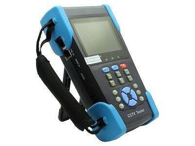 WLT HVT-2601 3.5''LCD CCTV Tester Cam Monitor Test PTZ Controller DC Local New