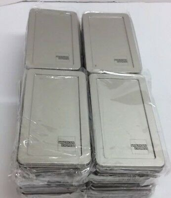 25 American Express Silver Metal Tip Trays Check Presenters New Item#: TNCP