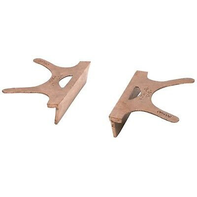 Wilton WMH24406 404-4.5 Copper Jaw Caps 4-1/2-in Jaw Width