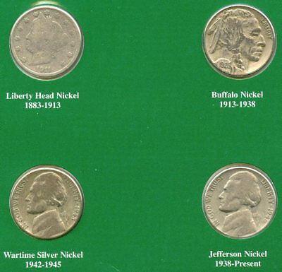 American Nickels of 20th Century 1911 - 1946 Coin Set Collection - AP118