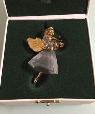 Excellent! SWAROVSKI CHRISTMAS MEMORIES a limited item in 1998 ChristmasOrnament