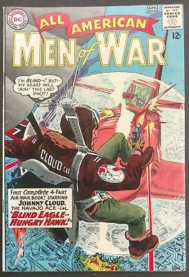 All-American Men Of War #102 1964 Nice Vg/fn Full Length Johnny Cloud Story