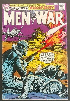 All-American Men Of War #109 1965 Nice Vg  Johnny Cloud Story Novick Cover