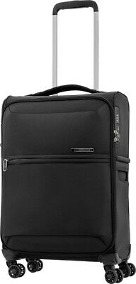 Samsonite 72 Hours DLX 55cm Carry On Spinner Suitcase Black