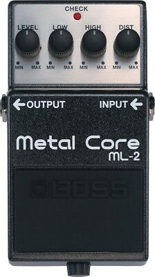 Boss ML-2 Metal Core Distortion Guitar Effect Pedal