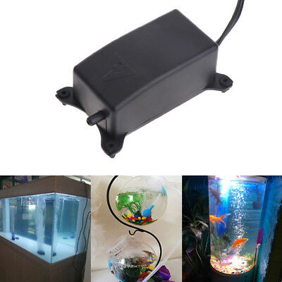 Mini Oxygen Air Pump Fish Tank Domestic Aquarium Ultra Eu Plug Quakeproof Silent