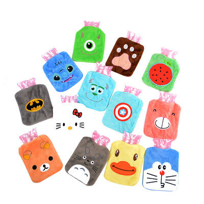 Mini Cartoon Thick Hot Water Bottle Bag Warm Heat Cold Therapy High Quality New