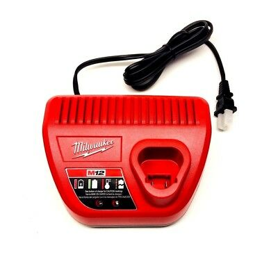 Milwaukee M12 12-Volt Lithium-Ion Battery Charger 48-59-2401