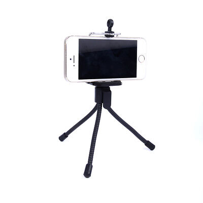Portable Flexible Mini Tripod Stand Mount Phone Holder For iPhone Camera Selfie