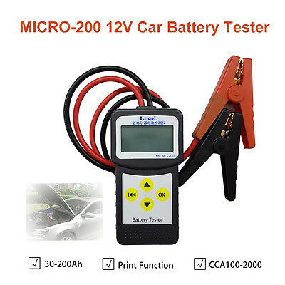 Automotive Car Battery Load Tester 12V Battery Analyzer W/Printer Function Hot