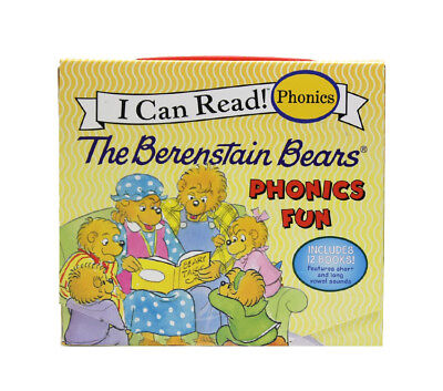 I Can Read! Phonics: The Berenstain Bears Phonics Fun [Paperback, 12 Books] Book