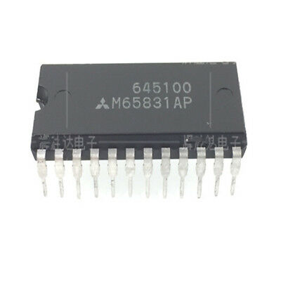 5Pcs  M65831Ap M65831 Digital Echo/delay Ic Mitsubishi/renesas Dip24 New