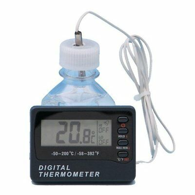 Thermco MIN-MAX Alarm Digital Freezer Bottle Thermometer -50C to 70C