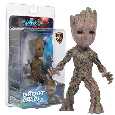 "Guardians of The Galaxy Vol. 2 Baby Groot 6"" Figure Statue Collectable Toy Gift"