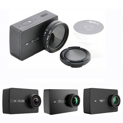 For Xiaoyi Yi Lite 4K Action Camera 37/52mm CPL UV Close Up 10X Lens Filter Kit