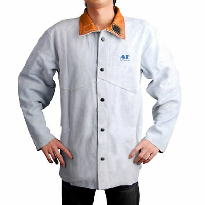 Welding Jacket Heat/Fire Proof Protective Welder Coat Soldering Outerwear Tops