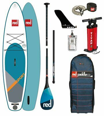 Red Paddle Co 2018 11.3' SPORT MSL Set Package Stand Up Paddle Sup Board