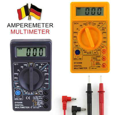 LCD DT-830B Display Digital Multimeter AC/DC 750/1000V Ampere Ohm Tester Meter