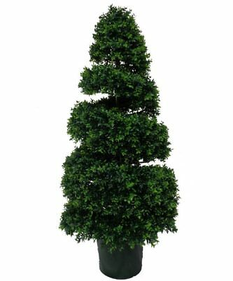Artificial UV Resistant Spiral Topiary 130cm