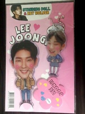 LEE JONG SUK JongSuk Photo Standing Doll Key Holder Set