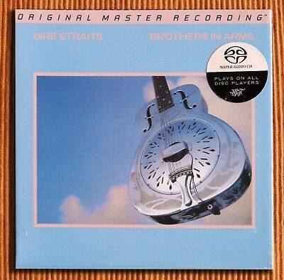 DIRE STRAITS - BROTHERS IN ARMS Hybrid SACD MFSL Numbered Limited Edition SEALED