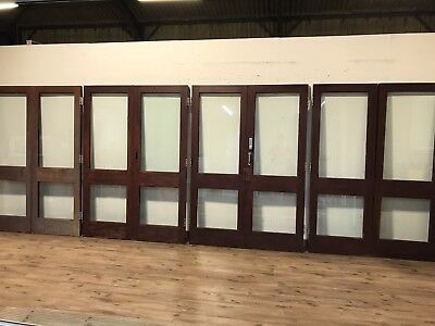 French doors picclick uk for Wooden double glazed french doors exterior