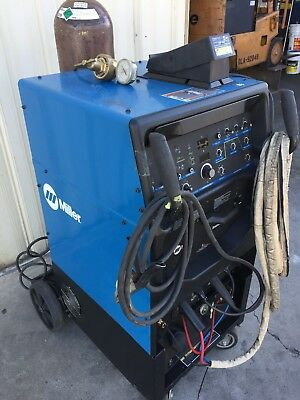 Miller Syncrowave 250 DX TIG Welder (with 3x Cooler and Running Gear)