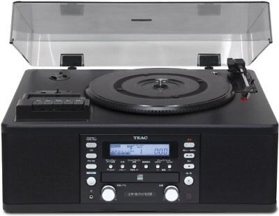 TEAC with CD recorder turntable / cassette player LP-R550USB-B P/O