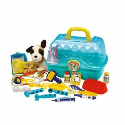 My Pet Vet Centre Kids Child Soft Plush Stuffed Toy and Medical Accessories Set