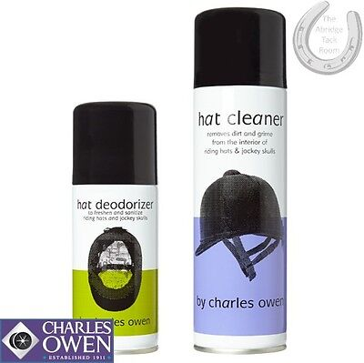 Charles Owen Helmet Cleaner and Helmet Deodorizer – Freshen/sanitise your hat