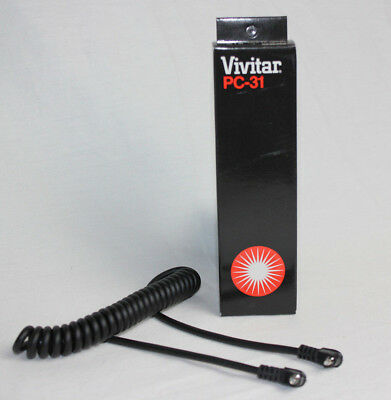 VIVITAR COILED SHUTTER CORD PC-31 BRAND NEW old stock