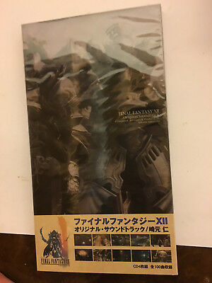 Final Fantasy Xii 12 Soundtrack Cd 4 Cd Set Lot New Sealed
