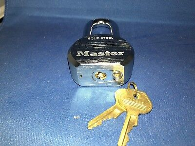 Master 930 HBE Solid Steel and boron alloy lock. High quality, open box.
