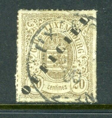 #o26 20c OFFICIAL  SIGNED - (USED) - cv$575.00