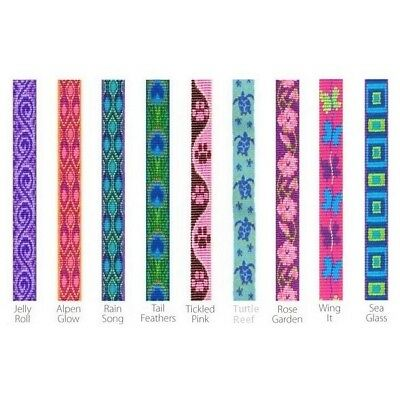 """NEW Colorful Patterns Cat Safety Collar with Bell in 1/2"""" by Lupine Originals"""