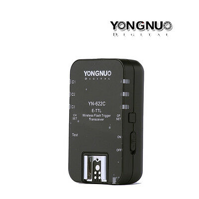 1pc Yongnuo YN-622C Wireless Flash Trigger Transceiver E-TTL HSS fr Canon EOS US